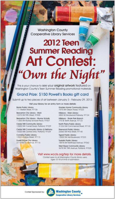 Details Teen Art Contest 99
